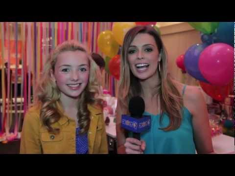 Peyton List Interview - GBK, Tiger Beat & Bop KCA Gifting Lounge