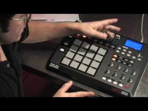 AKAI MPD32 Software Controller
