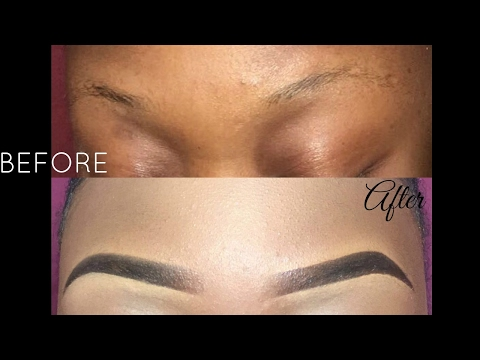 EASY EYEBROW TUTORIAL/ IN DEPTH!!    WUNDERBROW REVIEW!