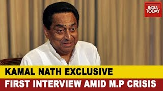 Kamal Nath Exclusive Interview With Rajdeep Sardesai On Madhya Pradesh Political Crisis
