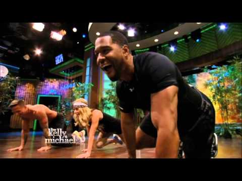 Kelly and Michael's Fitness Challenge -- Animal Flow Workout -- 