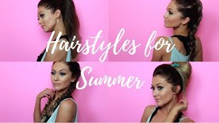 Summer Heat Hairstyles - LUXURY FOR PRINCESS