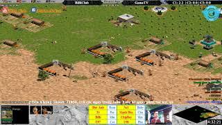 C1T5 - AoE 44 Random BiBiClub vs GameTv ngày 19-1-2018