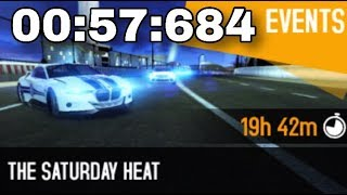 Asphalt 8 The Saturday Heat McLaren Mercedes MP4-25 Classified 00:57:684
