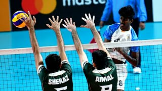 India vs Pakisthan Volleyball Match,13th South Asian Games 2019 Final Match