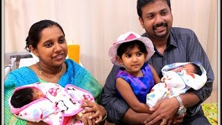 video Pastor Anish Mano Stephen &Family (New Born Babies - PAUL & PRISCA) blessed by Jesus on March 2nd 2015.