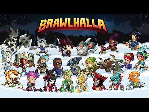 Brawlhalla Open lobby