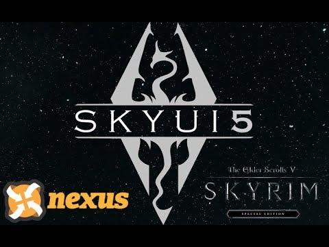 Skyrim SE: SkyUI 5.1 and SKSE64 Installation Nexus Mod Manager Tutorial