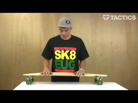 Sector 9 Ghost Tree Bamboo Complete Longboard review - Tactics.com