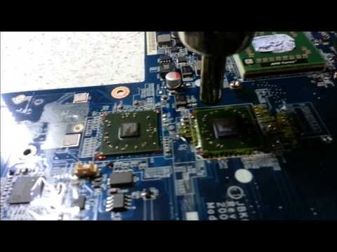 EASY. Hp laptop video card repair . REPAIR THAT WILL LAST
