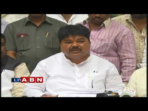 MLC Ramulu Naik Holds Press Meet over his Party Changing | ABN Telugu