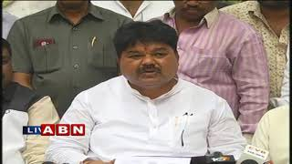 MLC Ramulu Naik Holds Press Meet over his Party Changing