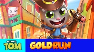 NEW in Talking Tom Gold Run - Tom's Wild West