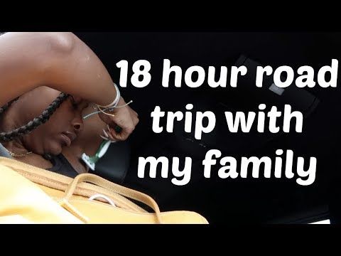 18 HOUR ROAD TRIP WITH MY FAMILY
