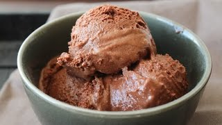 How To Make Chocolate Frozen Yogurt - By One Kitchen Episode 497