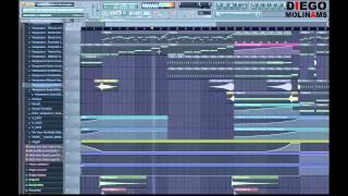 FL Studio Remake: Sidney Samson & Martin Garrix - Torrent (Drop) + Flp