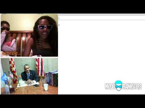 Barack Obama On Chatroulette!