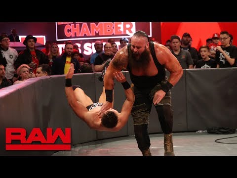 Braun Strowman vs. The Miz - Seven-Man Gauntlet Match Part 6: Raw, Feb. 19, 2018 thumbnail