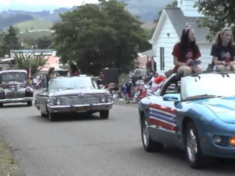 Creswell Oregon 4th of July Parade Yoncalla Oregon July 4th Rodeo