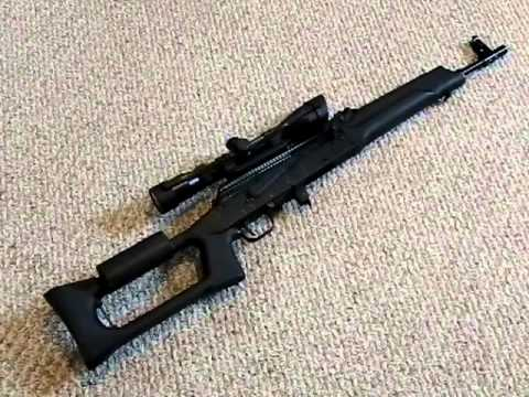 Saiga 7.62x39mm rifle - AK47 Comparison and full review