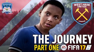 THE JOURNEY! #1 - FIFA 17 - AND SO IT BEGINS! LET