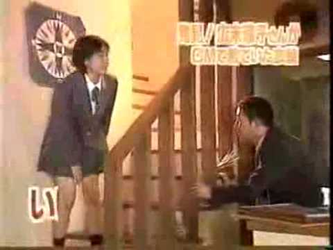 広末涼子が制服姿でパンチラ