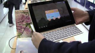 ASUS Eee Pad Slider in White Hands On