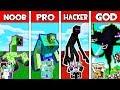 Minecraft - NOOB vs PRO vs HACKER vs GOD : FAMILY MONSTER MUTANT BATTLE in Minecraft Animation