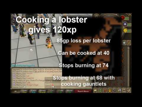 Runescape Power Cooking Guide F2p/P2p 1-99 W/Commentary – TheDuckGuides