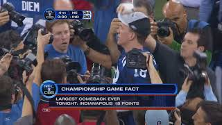 Last Play of Every AFC Championship 1998-2018