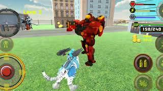 Robot biến hình Tiêu Diệt xe tăng Game hay Robot