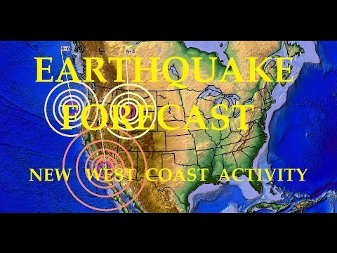 6/23/2016 -- Global Earthquake Forecast -- West Coast Watch + Pacific Unrest this week