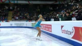 Kiira Korpi - Short Program - 2011 European Figure Skating Championships