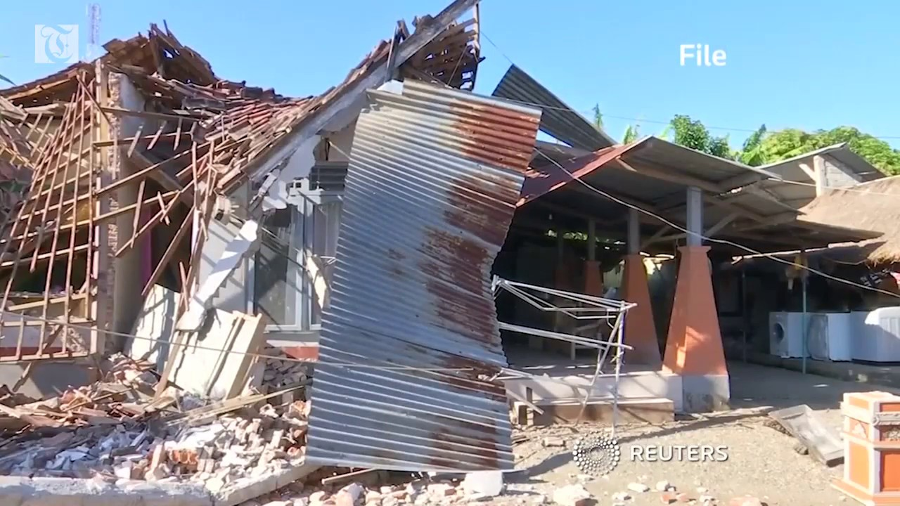 Quake, tsunami kills at least 48 in Indonesia