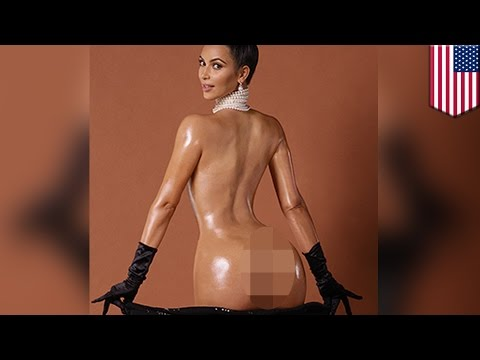 Kim Kardashian's Booty Breaks The Internet And The Bank video