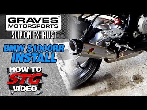 Graves Motorsports BMW S1000RR 10-14 Titanium Slip-On Exhaust from SportbikeTrackGear.com