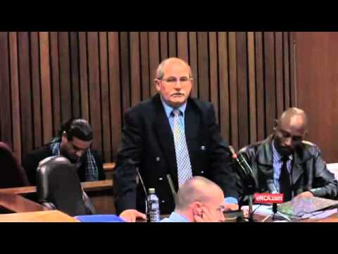 Reeva Steenkamp's body – covered in towels and black plastic bags – witness