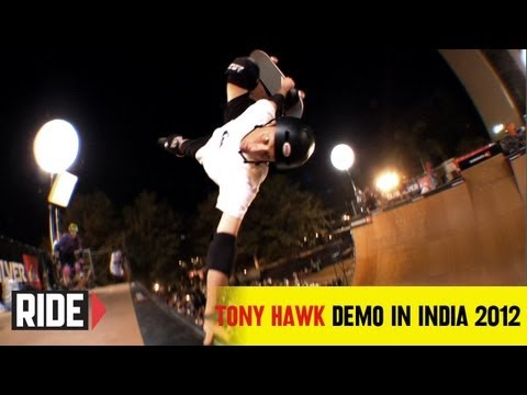 Tony Hawk at India's First-Ever Vert Demo