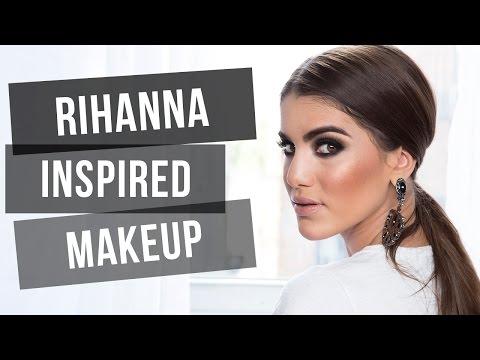 Rihanna Inspired Makeup video