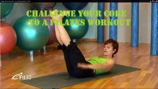 Pilates Get hard abs NOW - FULL 30 Minute workout - eFit30