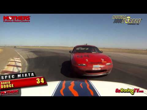 NASA's California Crown 2012 - Spec Miata Race