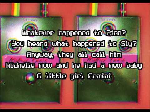 Get The Gang Together - Gerard Way (Lyric Video)