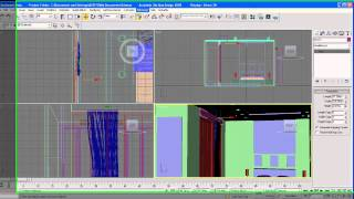 architecture tutorial on 3ds max curtains part 7