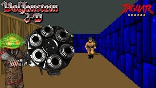 Wolfenstein 3D Jaguar Let's Play - Howling into the Stones