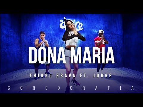 Dona Maria - Thiago Brava Ft. Jorge | FitDance TV (Coreografia) Dance Video thumbnail