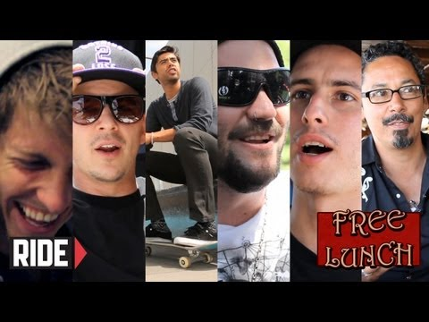 Bam Margera, Leo Romero, Jaws, Josh Kalis, Jose Rojo and Tommy Guerrero - Free Lunch Extra Helpings