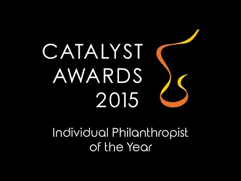 2015 Catalyst Awards Individual Philanthropist of the Year