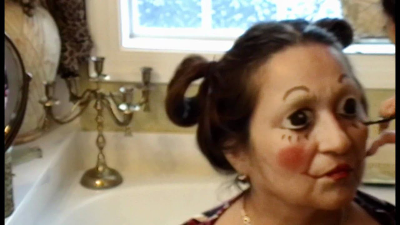 Raggedy Ann Makeup