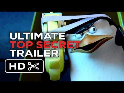 Penguins of Madagascar Ultimate Top Secret Trailer (2014) - Benedict Cumberbatch Movie HD