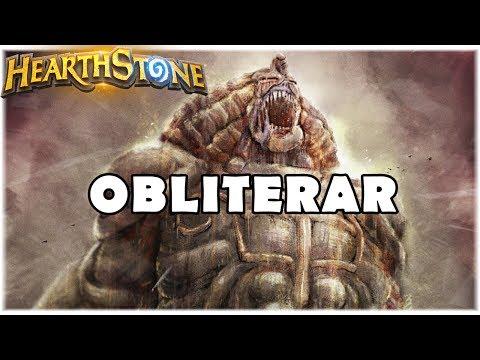HEARTHSTONE - OBLITERAR! (STANDARD QUEST EXODIA MAGE)